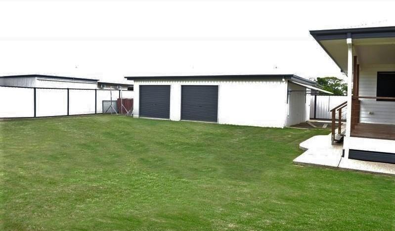backyard and shed